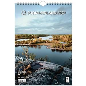 Ajasto Suomi seinäkalenteri 2020 290 x 415 mm