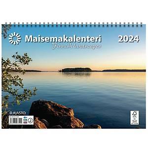 Ajasto Maisemakalenteri 2021 290 x 420 mm