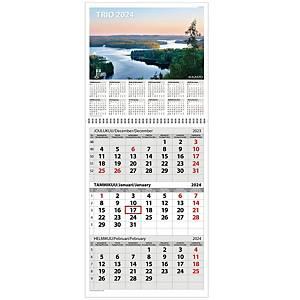 Ajasto Trio seinäkalenteri 2021 290 x 415mm