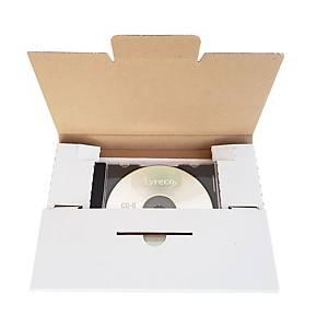Versandcouvert Brieger, C5, für CDs, weiss