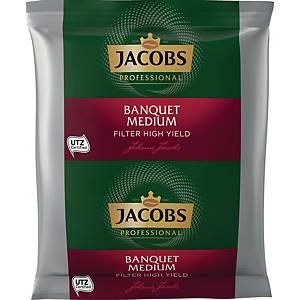 Kaffee Jacobs Banquet, gemahlen, 80 x 60g-Beutel
