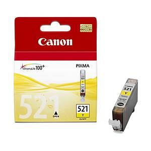 CANON tintasugaras nyomtató patron CLI 521Y (2936B001) sárga