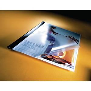 Panorámás iratvédő mappa, átlátszó, 10 darab/csomag