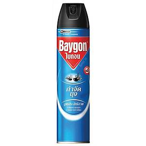 BAYGON สเปรย์กำจัดยุง สูตรกำจัดยุงและแมลงบิน 600 มิลลิลิตร
