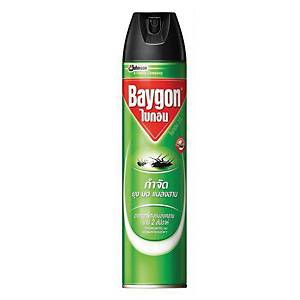 BAYGON สเปรย์กำจัดแมลง สูตรกำจัดแมลงบินและแมลงคลาน 600 มิลลิลิตร