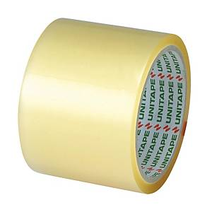 UNITAPE OPP PACKAGING TAPE SIZE 3 INCH X 45 YARDS CORE 3 INCH CLEAR