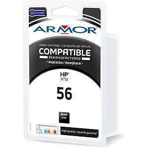 Cartouche d encre Armor compatible équivalent HP 56 - C6578A - noire