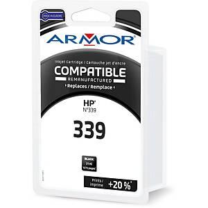 Cartouche d encre Armor compatible équivalent HP 339 - C8767E - noire