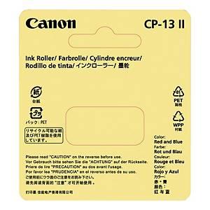 Färgrulle Canon IR40T/CP13, räknemaskin, blå/röd