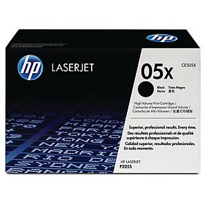 HP 05X High Yield Black Original Laserjet Toner Cartridge (CE505X)