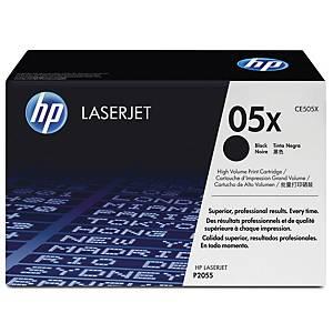 HP 05X CE505X laservärikasetti musta