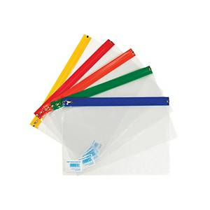 Clear A4+ Zip Bags - Pack of 25