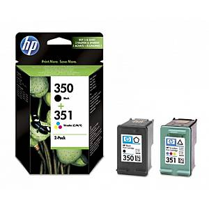 HP SD412EE cartouche jet d encre nr/clrs - set CB335EE+CB337EE [200+170 pages]