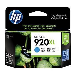 HP ตลับหมึกอิงค์เจ็ท HP920XL CD972AA สีน้ำเงิน