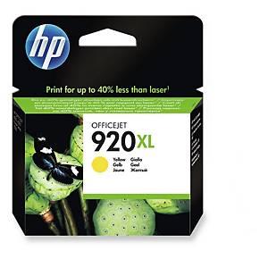 HP ตลับหมึกอิงค์เจ็ท HP920XL CD974AA สีเหลือง