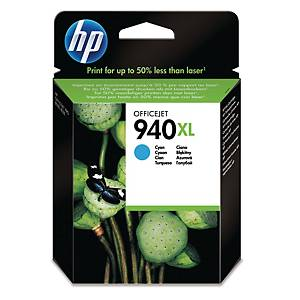 HP 940XL High Yield Cyan Original Ink Cartridge (C4907AE)