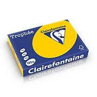 Clairefontaine Trophée 1257 gekleurd A4 papier, 120 g, geel, per 250 vel