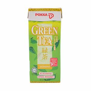 Pokka Green Tea 250ml - Pack of 6 (Best Before 13.04.2020)