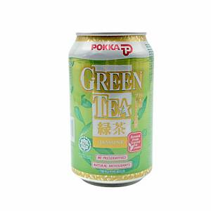 Pokka Jasmine Green Tea 300ml - Pack of 24