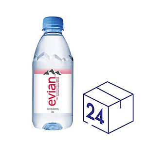 Evian Mineral Water 330ml - Pack of 24