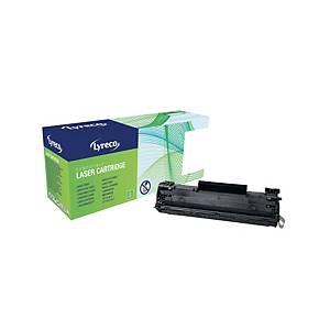 Lyreco HP CB436A Compatible Laser Cartridge - Black