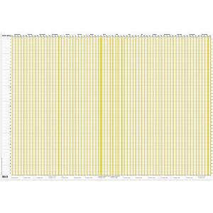 Kalender Mayland 0652 00, 2020/2021, 89 x 59 cm, whiteboard, pp