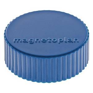 Haftmagnet Magnetoplan 16600, Durchmesser: 34mm, dunkelblau, 10 Stück