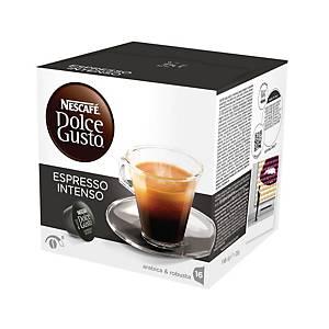Capsules Nescafé® Dolce Gusto Espresso Intenso, le paquet de 16 capsules