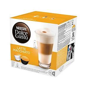 Kávové kapsle Dolce Gusto Latte Macchiato, 16 kapsúl