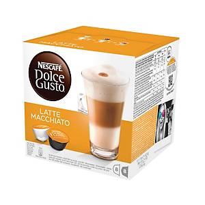 Capsules Nescafé® Dolce Gusto Latte Macchiato, le paquet de 16 capsules
