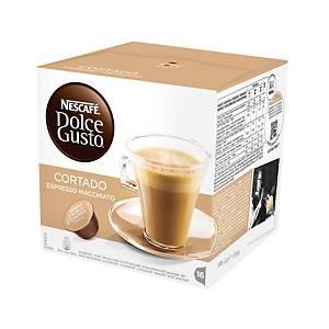 Caja de 16 cápsulas de café Dolce Gusto Cortado