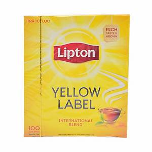 Lipton Yellow Label Tea Bags - Box of 100