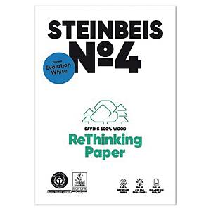 Papier recyclé blanc A4  Steinbeis Evolution White - 80 g - ramette 500 feuilles