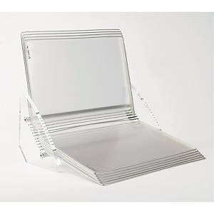 Bordstander Tarifold Crystal Line, A4, 10 lommer, transparent
