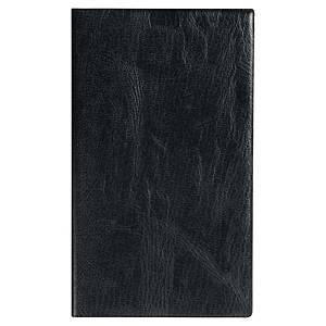 Agenda quinzainier Exacompta Silhouette 17 - 2020 - 9 x 17,5 cm - noir