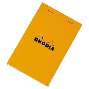 Bloc-notes Rhodia - 11 x 17 cm - 160 pages - blanc quadrillé
