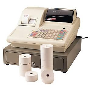 Bobine - 1 pli - caisses et calculatrices - 57 x 70 x 12 mm - lot de 50