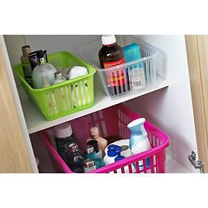 Handy Shopping Basket 30X20X11 Silver