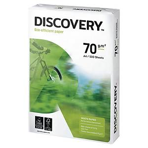 Discovery Paper A4 70 Gsm White - 1Ream (500 Sheets)