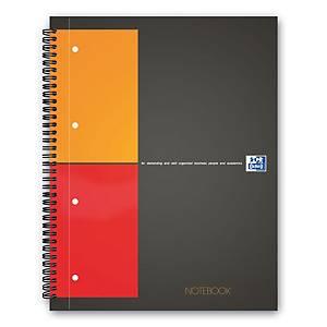 Taccuino Oxford International A4+ notebook A4, 5 mm a quadretti, 80 fogli