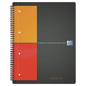 Blocco a spirale Oxford International Notebook A4+ quadretti 5 mm 80 fogli