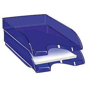 Briefkorb CEP Pro Happy, transparent blau