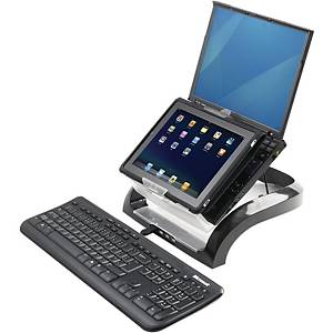 Fellowes 8020901 Smart Suites laptop support black/transparant