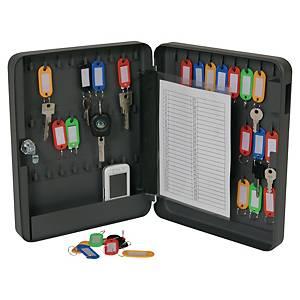 Boîte à clés Pavo, 54 crochets, serrure à cylindre, anthracite