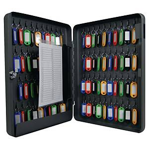 Metal Key Cabinet - 80 Key Capacity