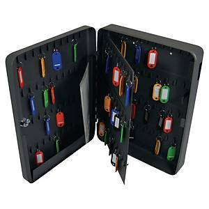 Boîte à clés Pavo, 140 crochets, serrure à cylindre, anthracite