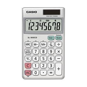 Miniräknare CASIO SL-305 ECO, 8 siffror