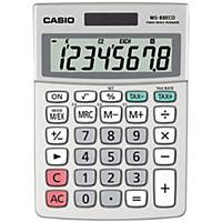 Casio MS-88ECO pöytälaskin 8 numeron näyttö