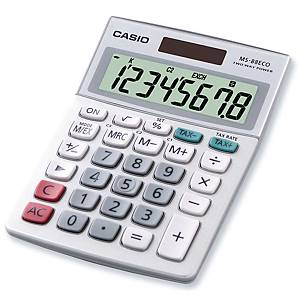 CASIO MS-88 ECO  CALCULATOR 8 DIGITS