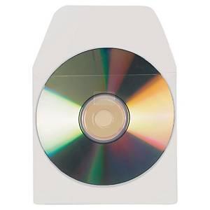 Pack de 10 fundas adhesivas para CD 3L